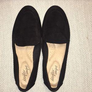 De flex Comfort black loafers size 9